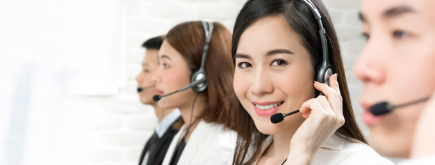 asian telemarketing customer service agents - Contact